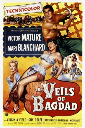 The Veils of Bagdad  1953 DVD - Victor Mature / Mari Blanchard
